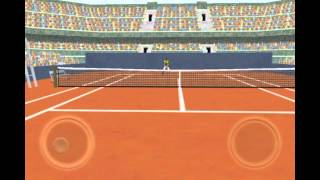 First Person Tennis YouTube video