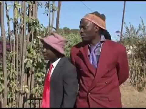 Limbikani and Bonyolo at the funeral