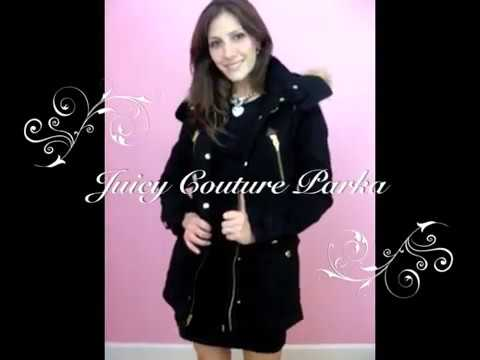 Juicy Couture Lundy Parka Puffer Coat