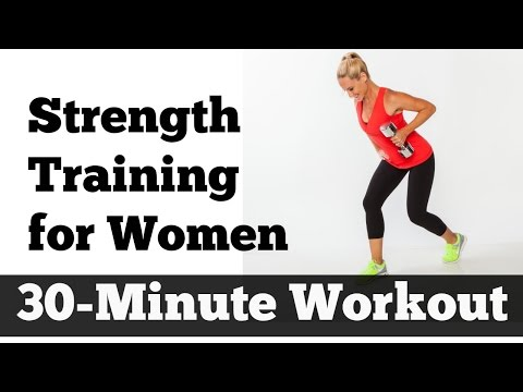 30-Minute Strength Training for Women | Home Workout for All Levels