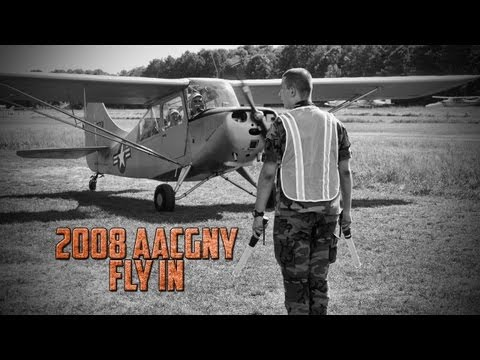 Antique Airplane Club of Greater NY – Antique Airplane Fly In 2008