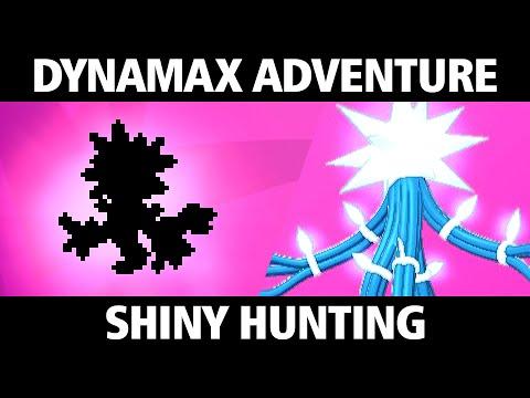 DYNAMAX ADVENTURE SHINY HUNTING LEGENDARY POKEMON - The Crown Tundra