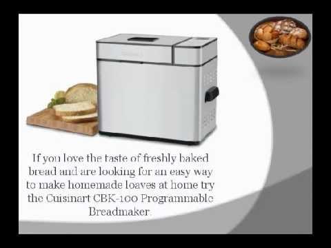 Programmable Breadmaker Cuisinart Cbk 100 Cuisinart