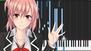 Everyday World - Oregairu 2 (Ending) [Piano Tutorial]
