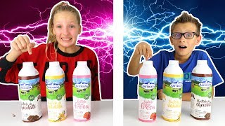 Video Twin Telepathy Milkshake Challenge ! ! MP3, 3GP, MP4, WEBM, AVI, FLV Juni 2019
