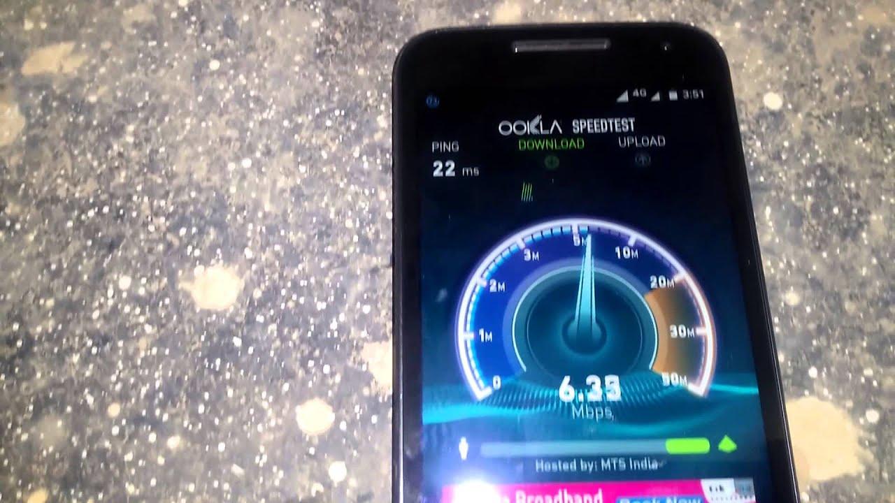 Descargar [Hindi] Motorola moto G 3rd Gen Speedtest 2G/3G/4G/WiFi para Celular  #Android