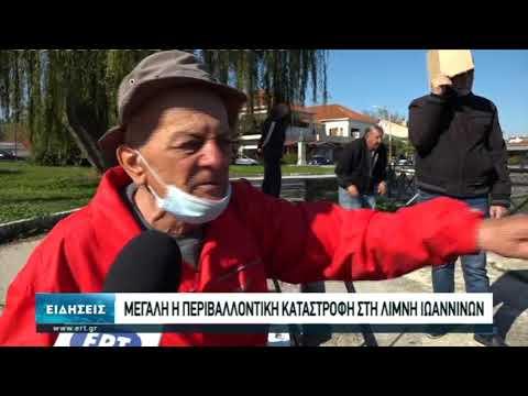 Επιβαρυμένη με ρύπους η λίμνη των Ιωαννίνων | 20/10/2020 | ΕΡΤ