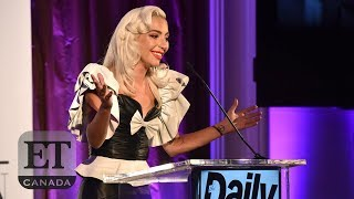 Lady Gaga Honours Hairstylist At The LA Fashion Awards | FULL SPEECH