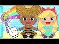 BEBE LILY se disfraza de LOL Dolls, Disney Princesas, Vampirina y más | Dibujos animdos infantiles