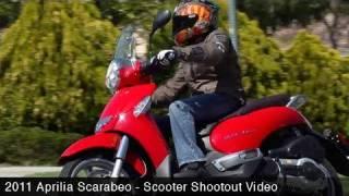 2. MotoUSA Scooter Shootout:  2011 Aprilia Scarabeo