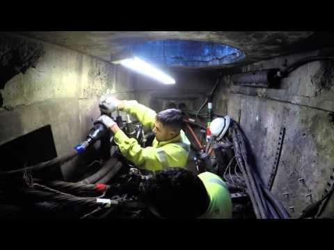 Lineman underground splice