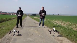 Achim Germany  city pictures gallery : 2 DJI Inspire 1 Flying in Achim Germany