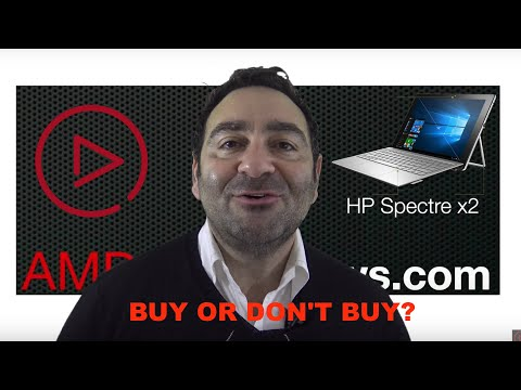 HP Spectre x2 Review:  Is it a Buy or Don't Buy?