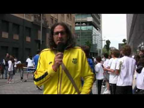 Andres Sanzol en la Fiesta del Tenis Navarro