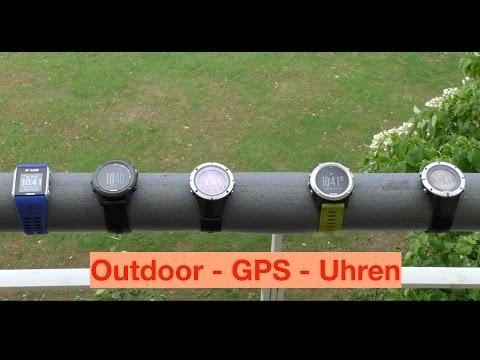 Vergleich Outdoor GPS Uhren