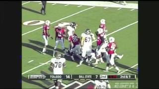 Eric Page vs Ball State 2011
