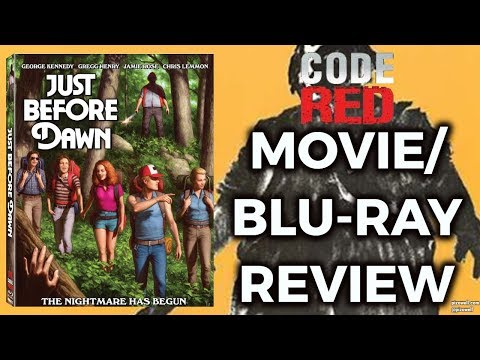 JUST BEFORE DAWN (1981) - Movie/Blu-ray Review (Code Red)