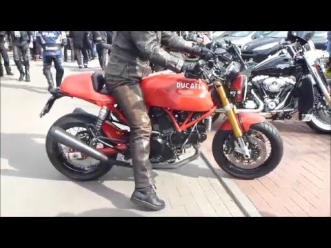 Ducati Sport Classic 1000 SOUND 92 hp 220 Km/h * see also Playlist