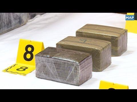 حجز طن من مخدر الكوكايين وتوقيف سبعة أشخاص يشتبه في ارتباطهم بشبكة إجرامية تنشط في المجال