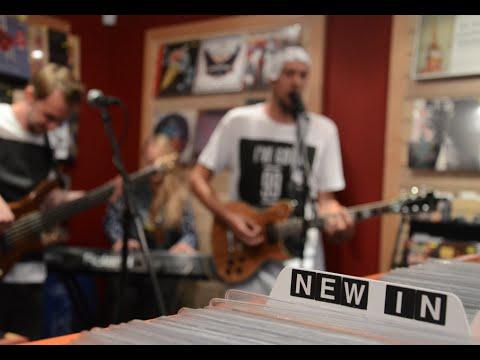'Signs (G-Jazz Refix)' Live at Empire Records - April Blue (видео)
