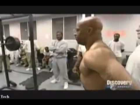 powerlifting - Powerlifting in Prison (Original video by Discovery Channel)