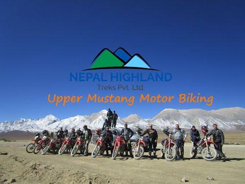 UPPER MUSTANG BIKING TOUR | Best Motor Biking tour in Nepal | Upper Mustang Motor Biking
