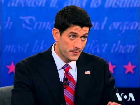 Biden and Ryan Engage in Spirited Vice Presidential Debate