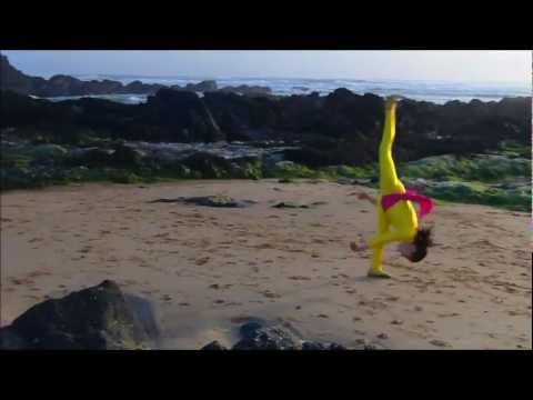 Gymnastics at the Beach