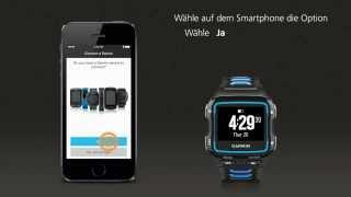 Garmin Forerunner 920XT: Mit dem Smartphone verbinden
