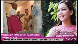 Video Selamat! Maia Estianty & Irwan Mussry Resmi Menikah di Tokyo, Jepang - iSeleb 30/10 MP3, 3GP, MP4, WEBM, AVI, FLV November 2018