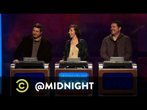 @midnight w/ Chris Hardwick (@Nerdist) - BuzzSpeed- 85 Dogs That Are 24 Cats (Comedy Central)
