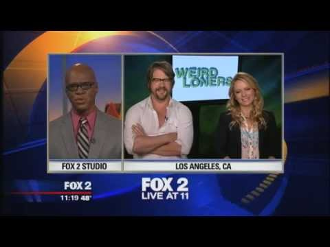 Lee Thomas talks to the cast of Weird Loners
