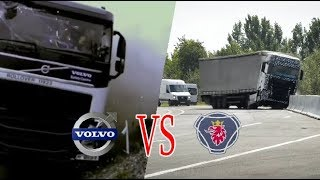 Video VOLVO VS SCANIA !! Sistem Keselamatan Mana yang Lebih Baik? MP3, 3GP, MP4, WEBM, AVI, FLV Februari 2018