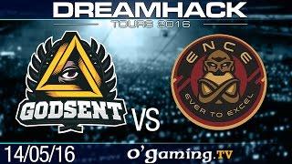 ENCE vs GODSENT - DreamHack Tours 2016 - Day 1