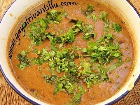 Rajmah (Red Kidney Beans) Curry – Indian Telugu Recipes