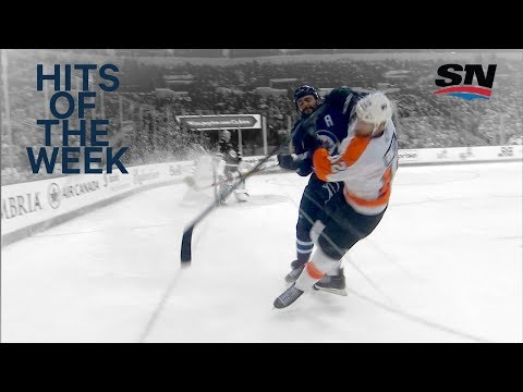 Video: Hits of the Week: Dustin Byfuglien is a bad man