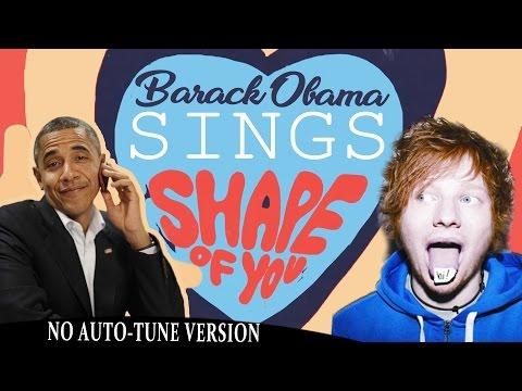 شاهد كيف يغني باراك أوباما أغنية Shape of You لـ إد شيران