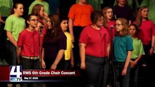 RMS 6th Grade Spring Choir Concert