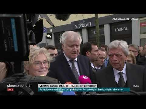 Horst Seehofer, Volker Bouffier und Claus Kaminsky zu ...