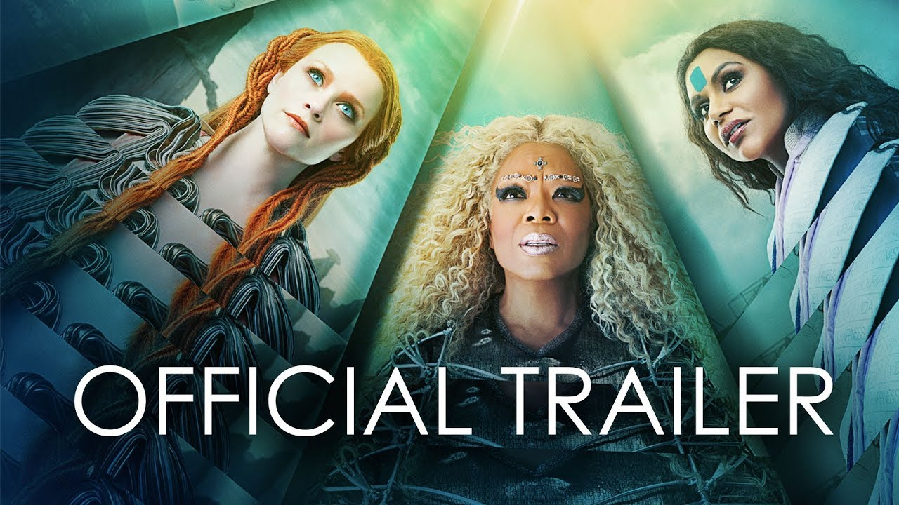 The only way to defeat the darkness is to become the light in Ava DuVernay Disney's Sci-Fi Fantasy 'A Wrinkle in Time' (Trailer) with All-Star Ensemble Cast