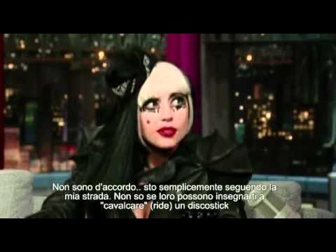 Lady Gaga u Davida Lettermana