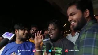 Video Sakka Podu Podu Raja - Review with Public | Santhanam, Vaibhavi | STR Musical MP3, 3GP, MP4, WEBM, AVI, FLV April 2018
