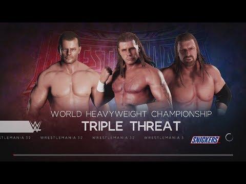 Video WWE 2K18 (PS4) HHH vs HBK vs Chris Benoit Wrestlemania XX Showcase Where it all begins again download in MP3, 3GP, MP4, WEBM, AVI, FLV January 2017