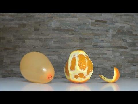 il palloncino e la buccia d'arancia