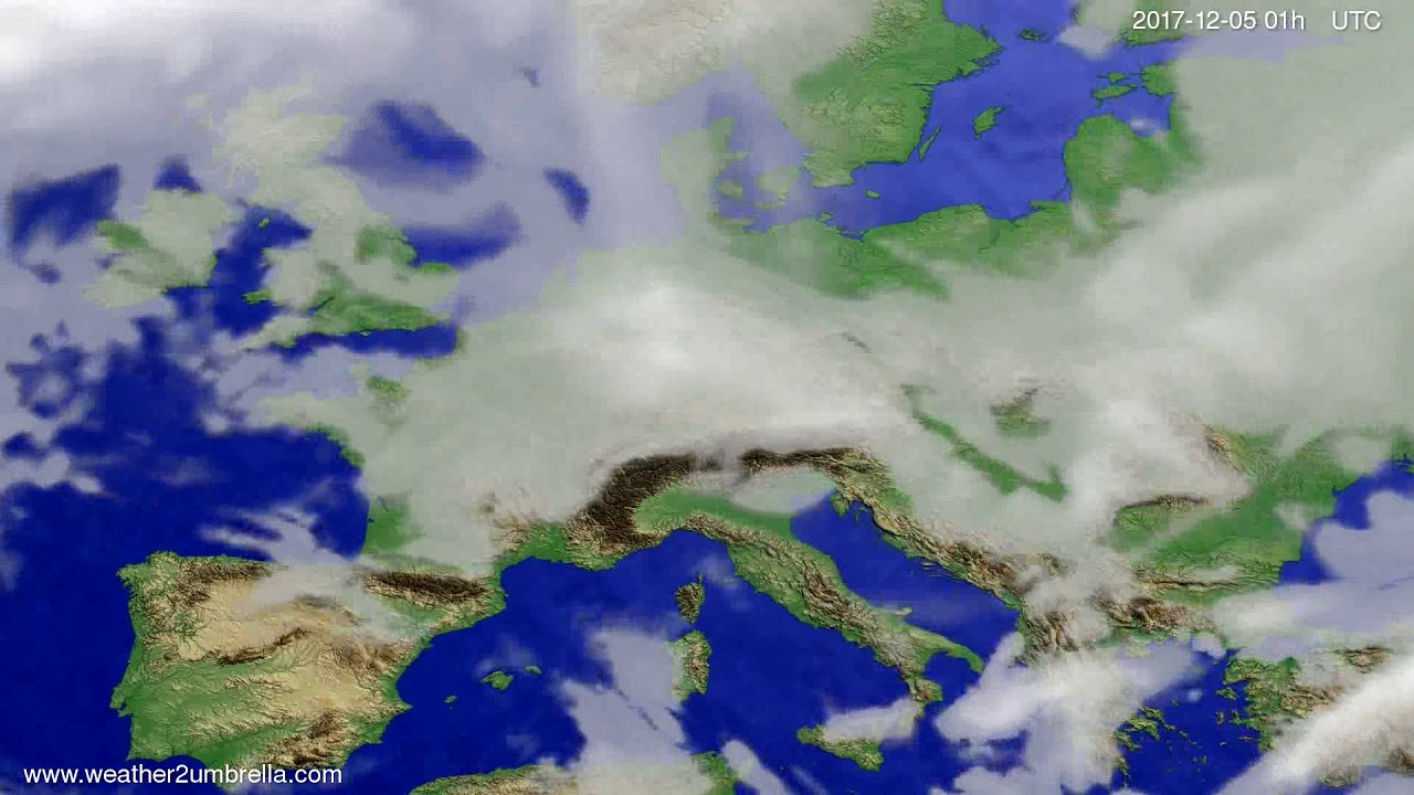 Cloud forecast Europe 2017-12-02