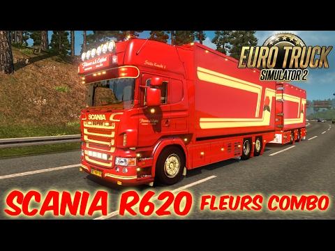 SCANIA R620 Fleurs Combo Tandem v2.0