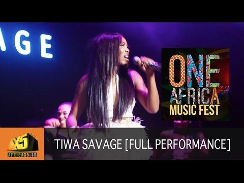 ONE AFRICA MUSIC FEST 2017 | Tiwa Savage [Full Performance]