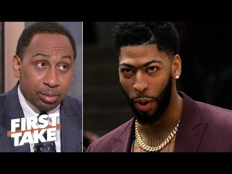 Video: The Clippers are making room for Anthony Davis – Stephen A. | First Take