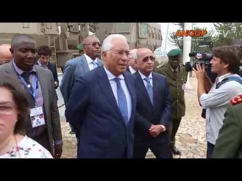 Primeiro-ministro português em Angola para uma visita oficial