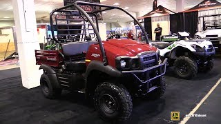 10. 2018 Kawasaki Mule 5x Utility ATV - Walkaround - 2017 Toronto Snowmobile ATV Show